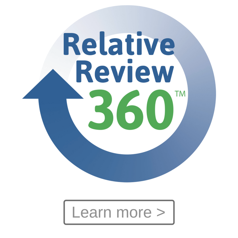 Continuity's 'Relative Review 360', RR360
